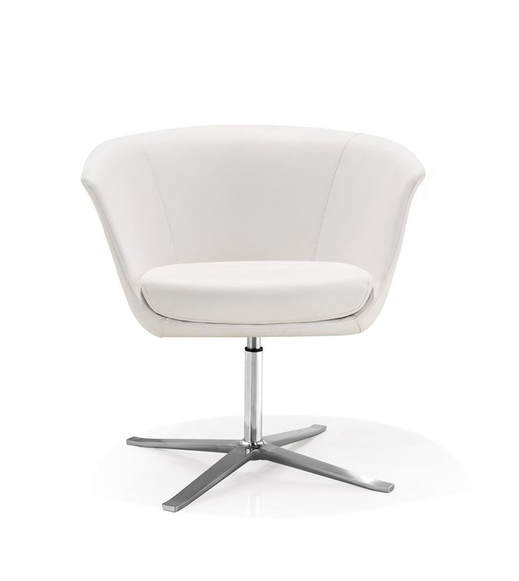 Office chair with simple clean design for workspace breakout and meeting areas.