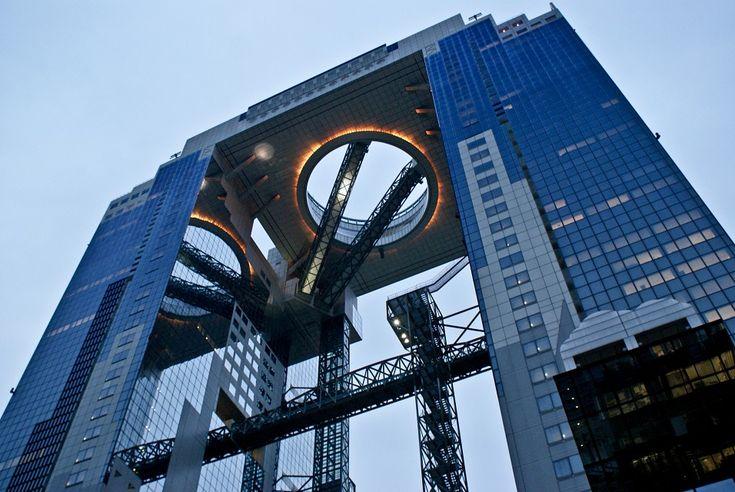 Hiroshi Hara   Umeda Sky building   Osaka, Japón   1988-1993