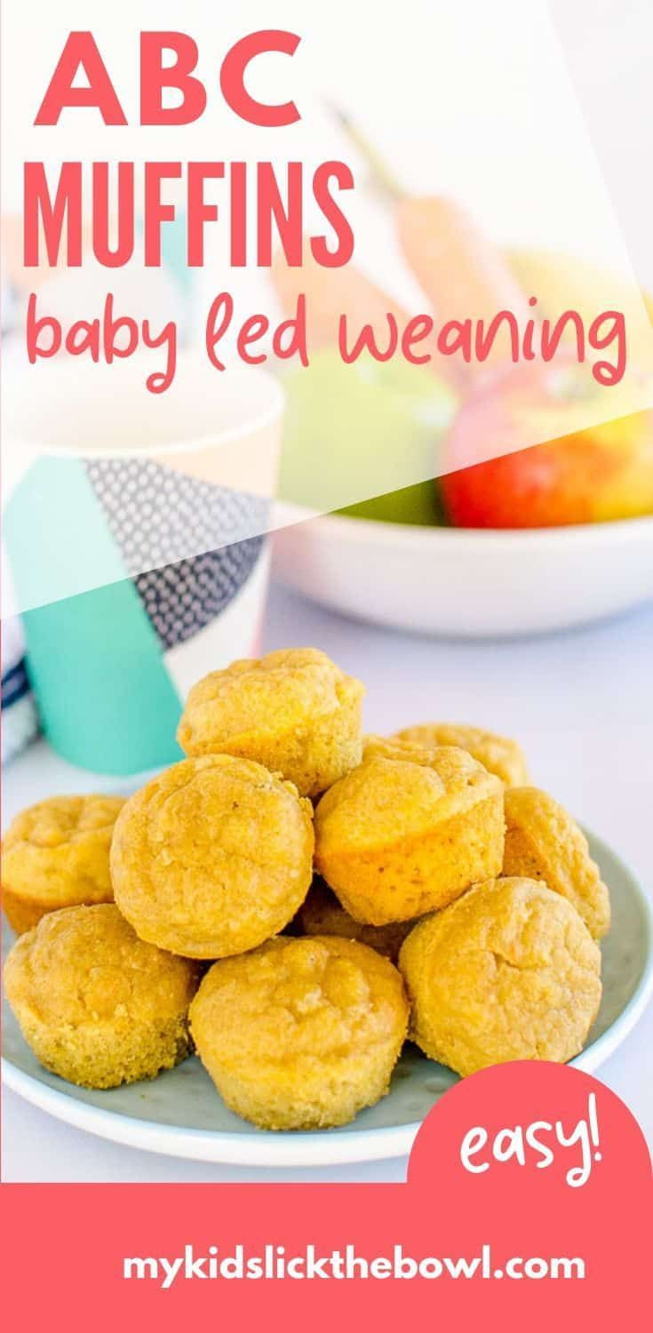 Abc Muffins Apple Banana Carrot No Added Sugar In 2020 Baby Led Weaning Recipes Baby Food Recipes Healthy Baby Food