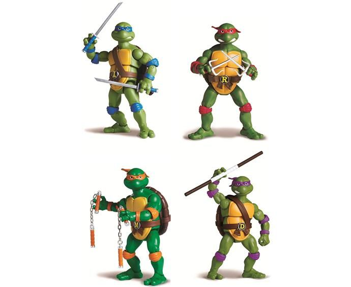Are you ready for the new versions of classic #TMNT toys? They're shipping now!: Turtles Retro, Mutant Turtle, Action Figures, Teenage Mutant Ninja Turtles, Classic Figures