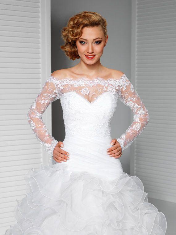 off shoulder alencon lace bolero jacket bridal bolero bridal lace shrug