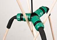 """Designer-Lampe zum Selbermachen. Mit der OBI Anleitung  können Sie die Stehlampe """"Insekt"""" ganz einfach selber bauen."""