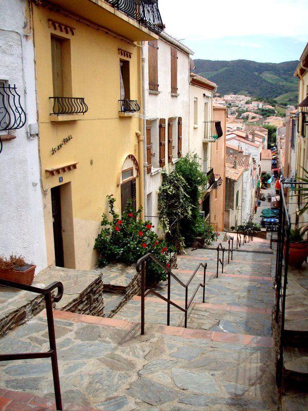 FRANCIA: Banyuls-sur-Mer, una de las calles (la verdad es que no me acuerdo XD)