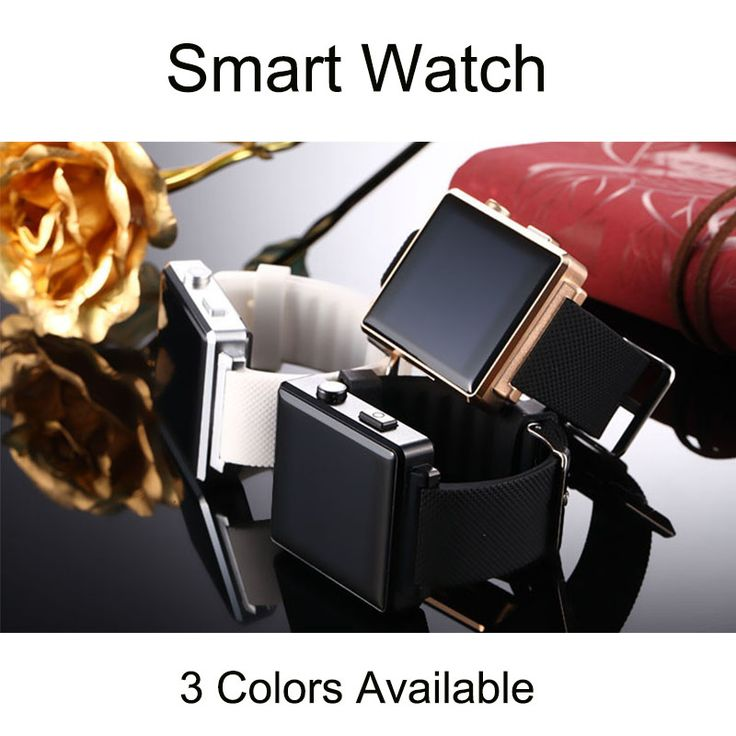 Neue Bluetooth Smart Uhren Smartwatch Mode Uhr für Android-handy Mit Kamera unterstützung Google play, Browser, Facebook, Twitter //Price: $US $22.18 & FREE Shipping //     #clknetwork
