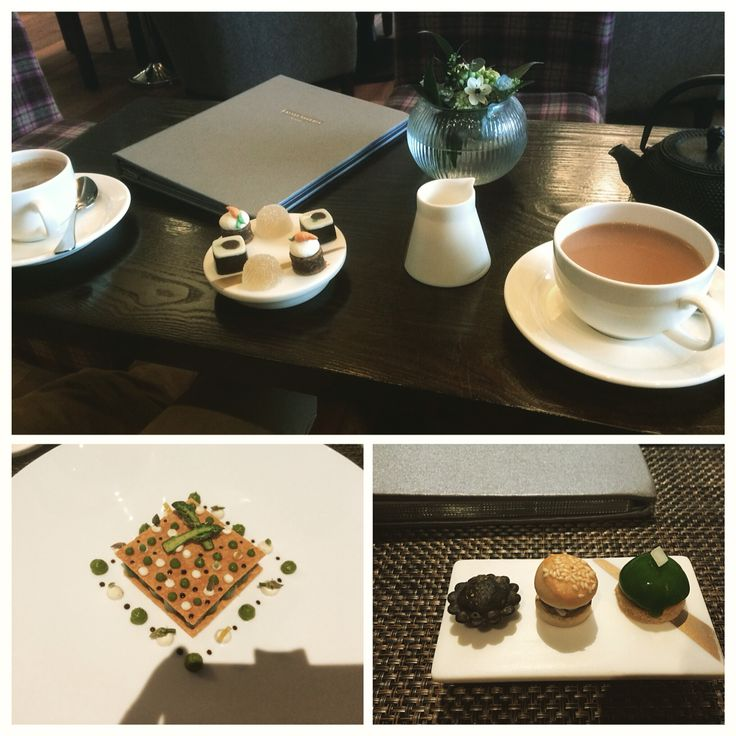 Castle Terrace Restaurant in Edinburgh. The most sensational food and wonderful service
