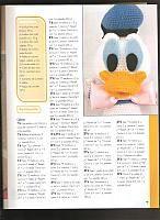 Paperino disney donald duck amigurumi 1