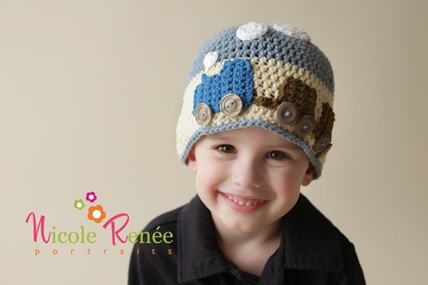 cute!  train hatCrafty Stuff, Training Hats, Crafts Ideas, Plays Hooky, Future Projects, Creative Crochet, Crochet Hats Headbands