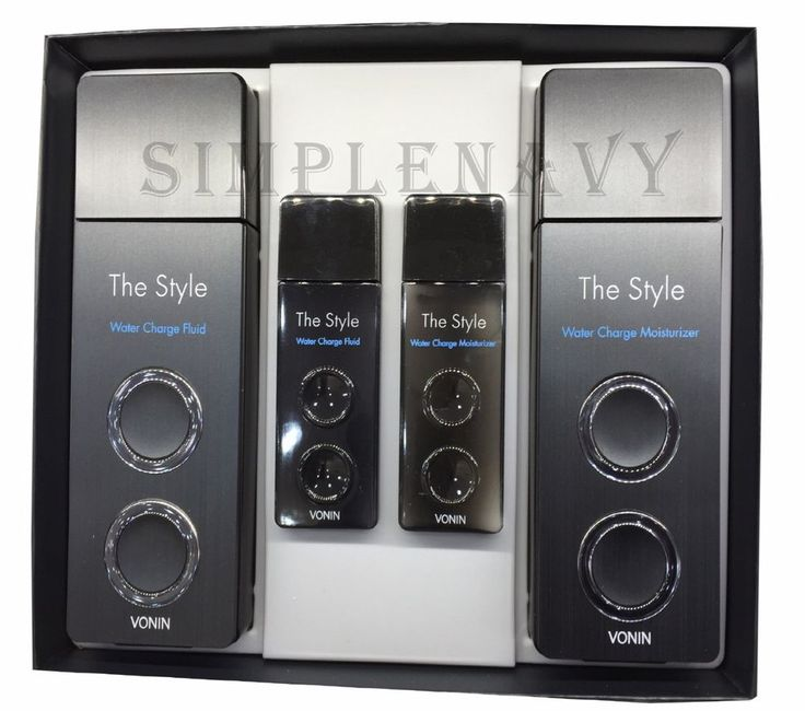 VONIN The Style Water Charge 2 Set For Dry Skin Type #VONIN