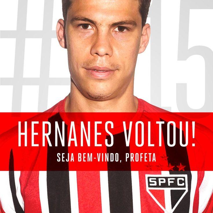 DE PRIMA com JÂNIO BARBOSA: São Paulo anuncia contratação do meia Hernanes: 'O...