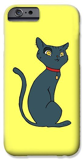 Blue Cat IPhone 6s Case for Sale by Erjan Sert.  Protect your iPhone 6s with an impact-resistant, slim-profile, hard-shell case.  The image is printed directly onto the case and wrapped around the edges for a beautiful presentation.  Simply snap the case onto your iPhone 6s for instant protection and direct access to all of the phone's features!