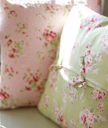 Large Floral Pillows