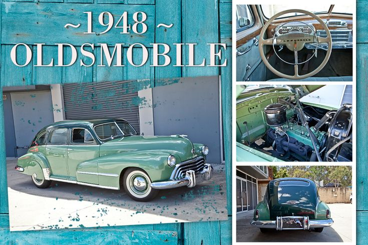 Oldsmobile was the first manufacturer to offer an automatic transmission; the Hydra-Matic, which was fitted to this car along with the 237c.i (3.9-litre) 6-cylinder engine delivering modern car refinement, if not modern car speed.   This stunning old classic will be going under the hammer this weekend in the USA Classic Car Online Auction! Jump online NOW to view the full list of cars