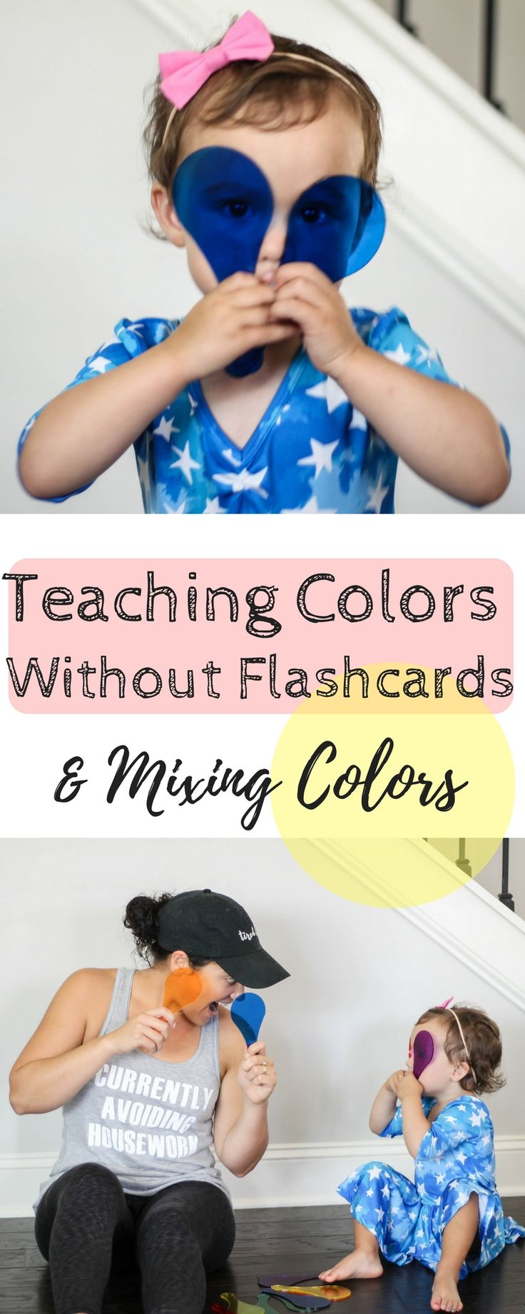 Teaching Colors without Flashcards | Homeschooling | Preschool | Toddler Education | Educational Games | Mixing colors | Fun Educational Color Games and Activities | Home Schooling preschool | No Flashcards | Busy Little Izzy Blog