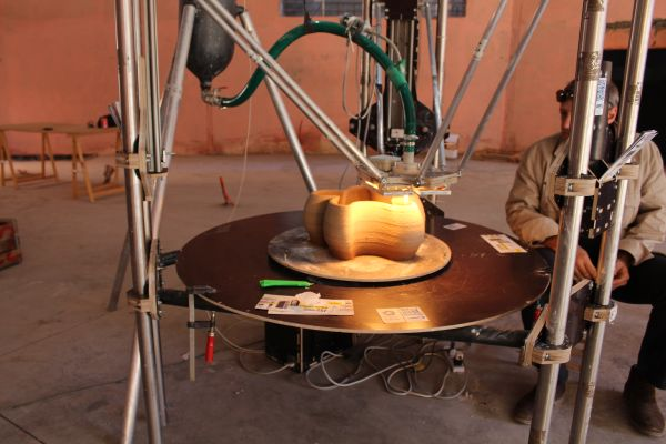 3ders.org - WASP team to 3D print homes in developing countries using clay and soil | 3D Printer News & 3D Printing News