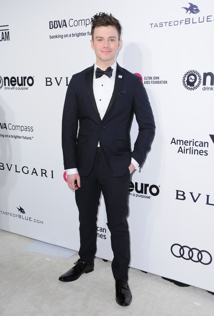 Chris Colfer attends the 25th Annual Elton John AIDS Foundation's Academy Awards Viewing Party on February 26, 2017 in West Hollywood, CA