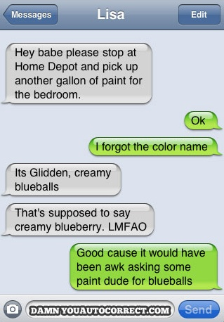 What Color should i paint my room? Blueballs?