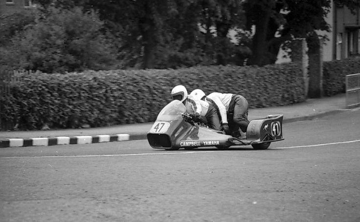 Alex Campbell y Jim Pearson, Yamaha 700 c.c., Isla de Man