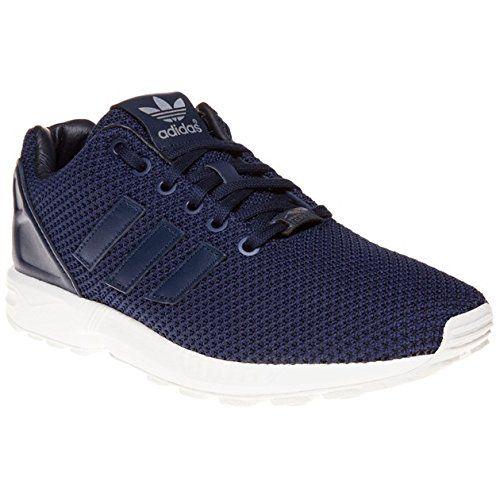 Adidas ZX Flux Schuhe collegiate navy-collegiate navy-vintage white - 46 2/3 - http://on-line-kaufen.de/adidas/46-2-3-eu-adidas-zx-flux-b34510-herren-laufschuhe