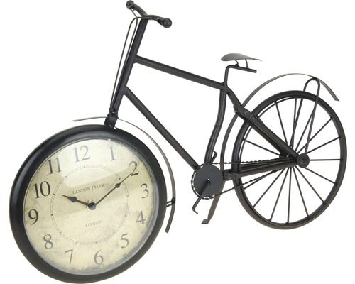 Tischuhr Fahrrad Metall 33x50 cm bei HORNBACH kaufen