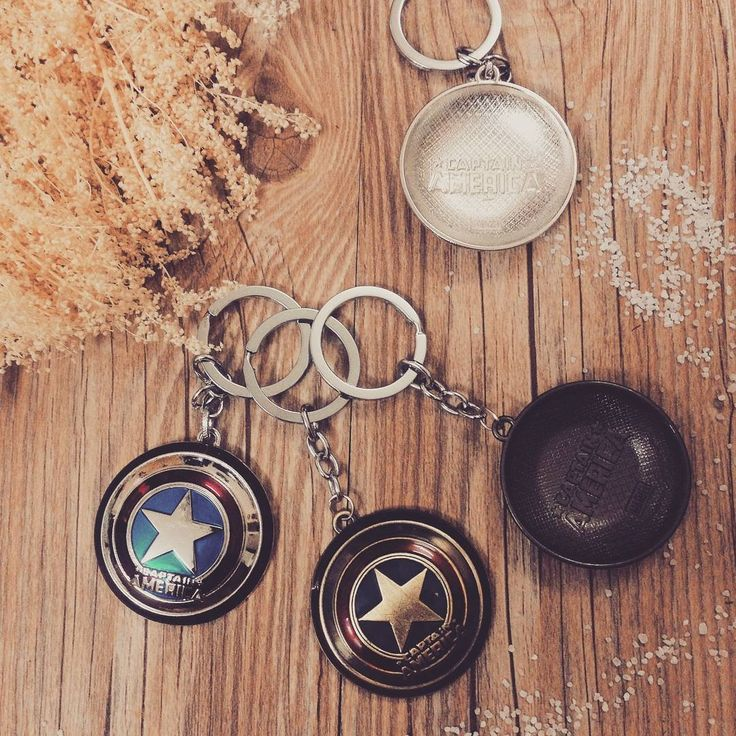 """Khiên #captainamerica """"Why Someone Weak? Because a Weak Man Knows The Value of Stength The Value of Power"""" - Captain America  #Giá: 55k #hanoi #vietnam #cute #keychain #forteen #instagood"""