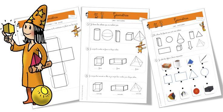 Maths : exercices : les solides - Bout de gomme