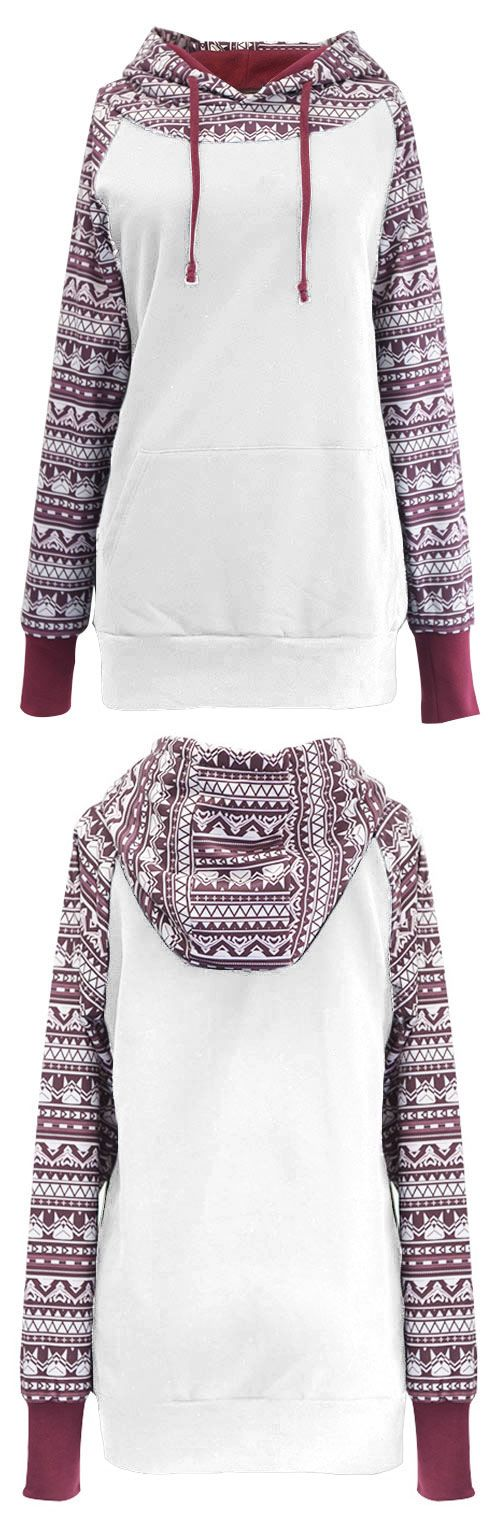 It's Real, hot sale at $33.99 ! Get it within free shipping! The hooded sweatshirt has stolen the show this season. Faster Shipping~ Crafted from cotton this one features a drawstring hood and long sleeves however it has classic printing and front pocket detail that adds the decorative edge.