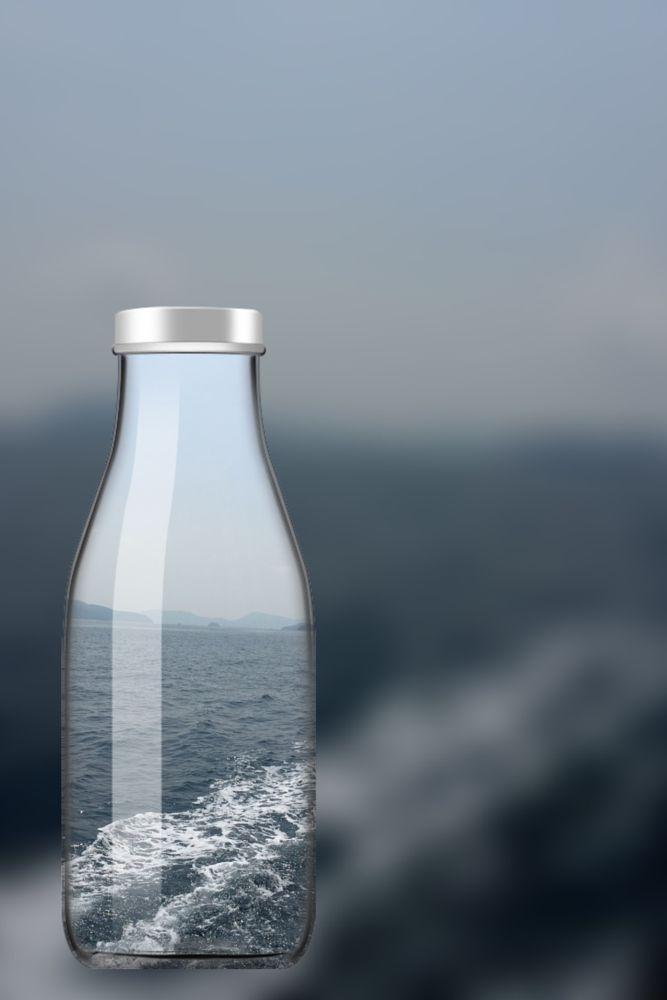 Δημιουργική μπουκάλι από την αρχική φωτογραφία από Veron Wong για 500px