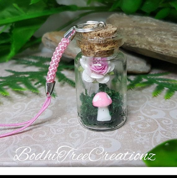 Hey, I found this really awesome Etsy listing at https://www.etsy.com/au/listing/474900694/pink-fairy-garden-miniature-bottle