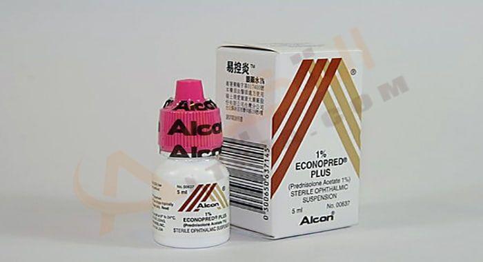 دواء إيكونوبريد بلس Econopred Plus قطرة ت ستخدم لعلاج ألتهاب العين الم زمن فإن بعض الأشخاص ي عانون م Convenience Store Products Convenience Convenience Store