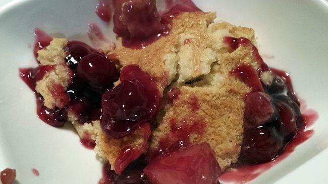Dessert met warm fruit | Miss Craftsy
