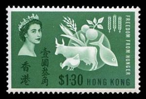 Stamps from Great Britain & British Commonwealth: British Commonwealth - Hong Kong