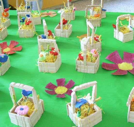 Lavoretti di Pasqua per i bambini della scuola dell'infanzia  (Foto 5/41)   PourFemme