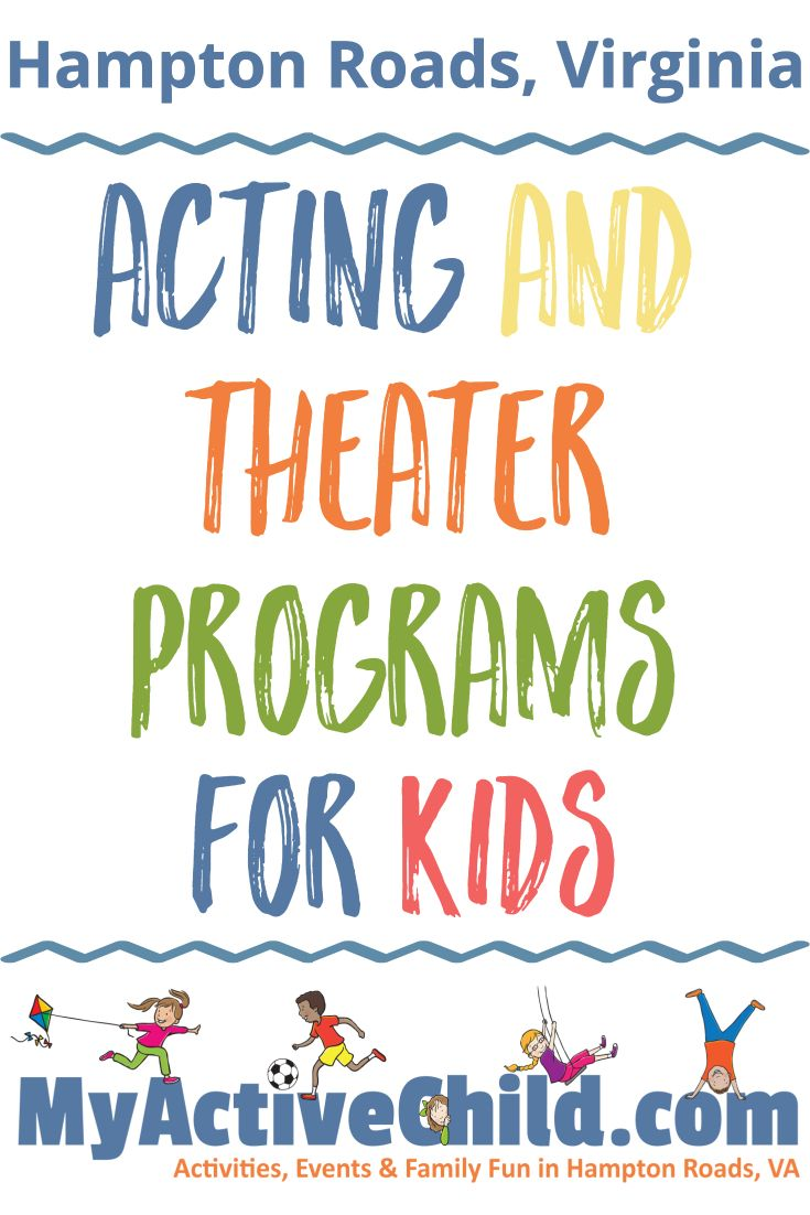 Acting and Theater Programs For Kids in Hampton Roads Virginia