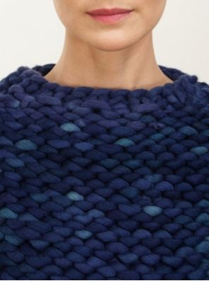 extra chunky pullover - knitbrary