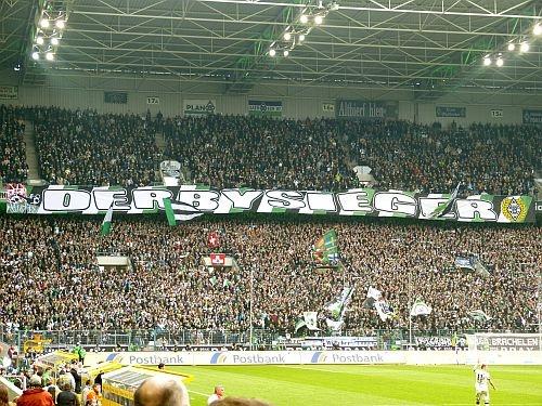 After the game between Borussia Mönchengladbach and FC Köln ;)