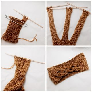 Ravelry: Bettinas Fletteband pattern by Britt Viken