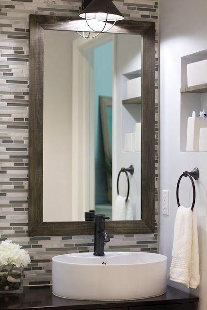 bathroom tile backsplash ideas - Backsplash In Bathroom