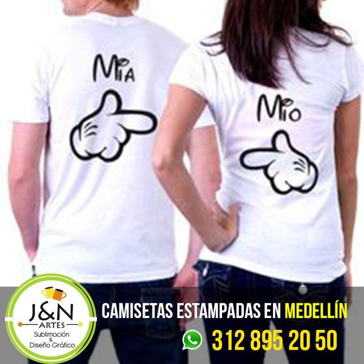 Camiseta Estampada en Medellin Mio Mia