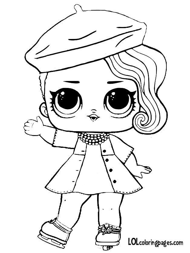 Related Image Lol Dolls Doll Drawing Cute Coloring Pages