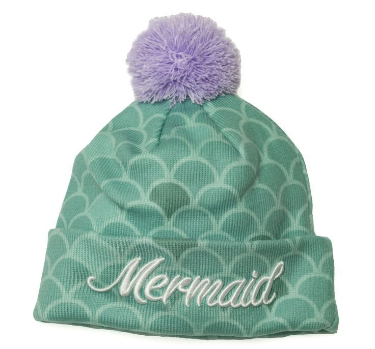 For our cold weather mermaids.