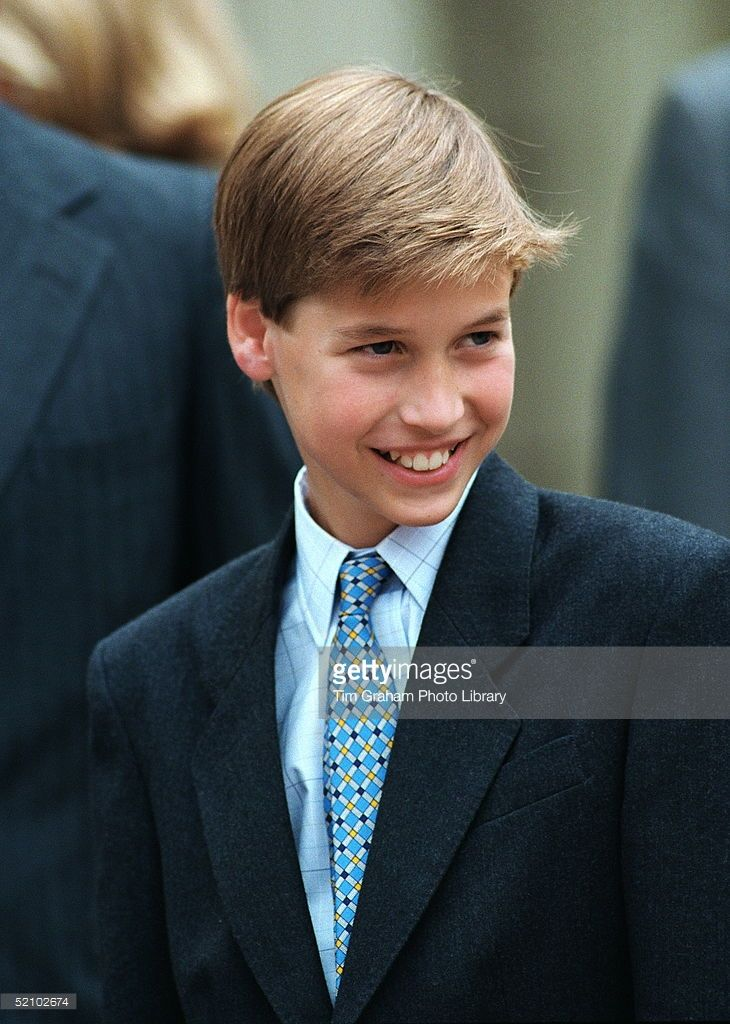 A Portrait Of Prince William Smiling Outside Clarence House On His Great Grandmother's Birthday