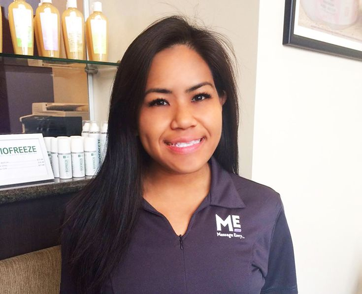 """#featurefriday Employee Feature: Meet Sheila, one of our #Massage #Therapist at our #PearlCity #Highlands #MassageEnvy #Hawaii location. #spa Sheila best vacation was to South Korea. What she likes most about her position at Massage Envy is """"helping others feel better."""""""