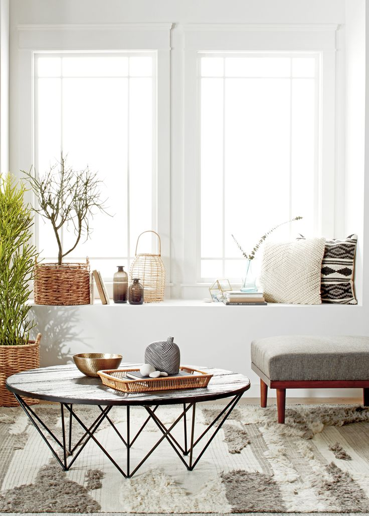 California vibes in our living room design for the overstock design challenge coco kelley