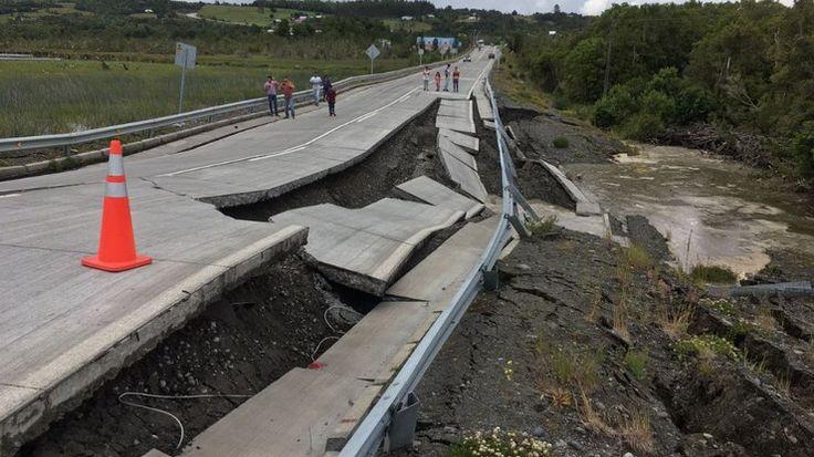 Terremoto de 7.7 graus atinge o sul do Chile; alerta de tsunami é emitido