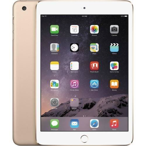 awesome Apple iPad Mini 3 MGY92LL/A NEWEST VERSION (64GB, Wi-Fi, Gold) (Certified Refurbished)