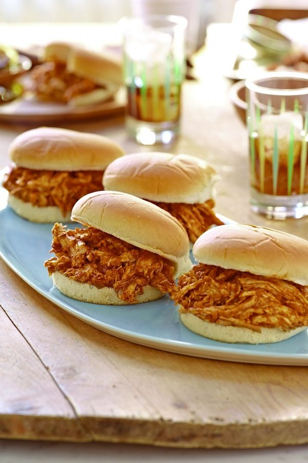 Pulled Barbecue Chicken Sandwiches: Labor Day Recipe