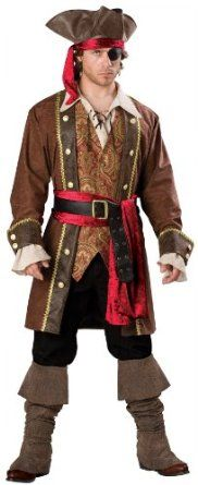 Pirate Costumes for All
