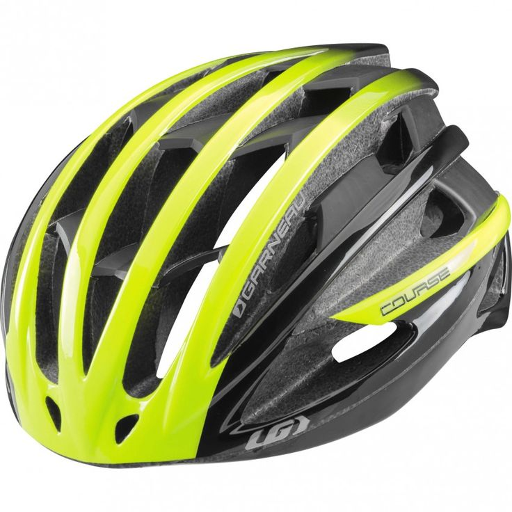 Course Cycling Helmet Yellow/Black