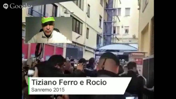Tiziano Ferro e Rocio Munoz Morales Sanremo 2015 - Commento