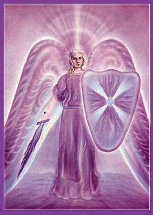 ARCÁNGEL ZADQUIEL  Dia:Jueves Planeta: Jupiter  Su nombre significa: Justicia de Dios. Es el Arcángel de la LLAMA VIOLETA y su complemento es AMATISTA. Sus cualidades: Libertad, Ritual, Transmutación, Alquimia, Misericordia o Perdón Divino. Su Rayo se magnetiza o magnifica el día Sábado. Su chakra es el Asiento del Alma (2º chakra). Se lo invoca especialmente para liberarnos de nuestro karma a través de la Transmutación de la Llama Violeta.
